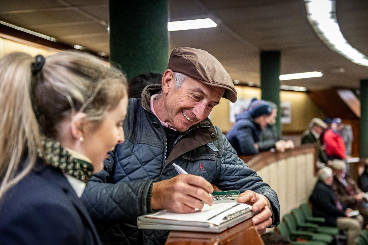 Vibrant Trade On Day 2 Caps Incredible Goffs Land Rover Sale